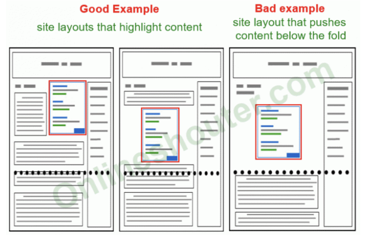 Best practices for ad placements
