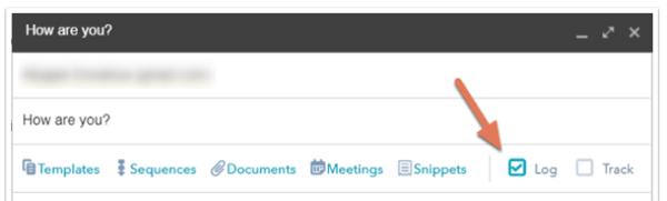 HubSpot CRM Email Logging