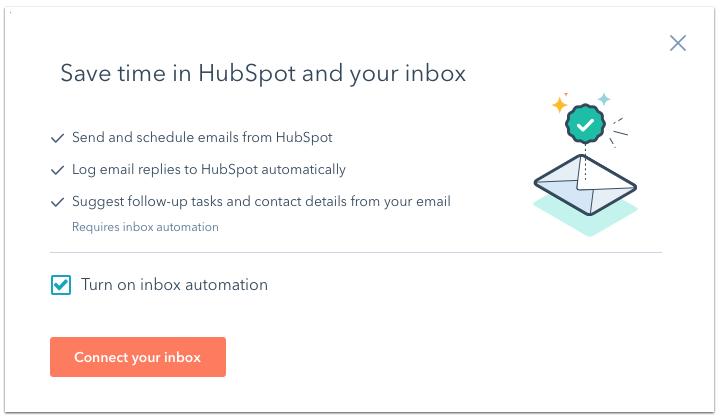 HubSpot Email Integration 3