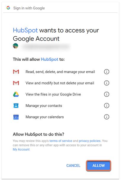 HubSpot Gmail Integration