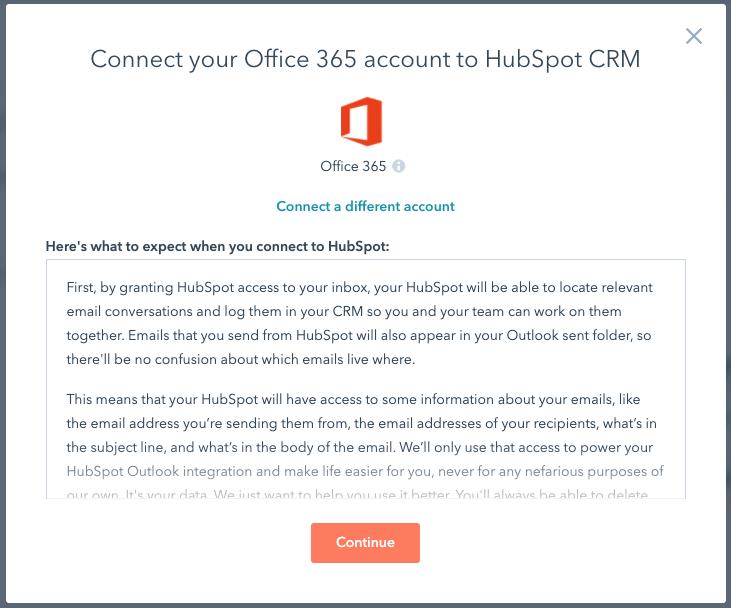 HubSpot Outlook Integration 1