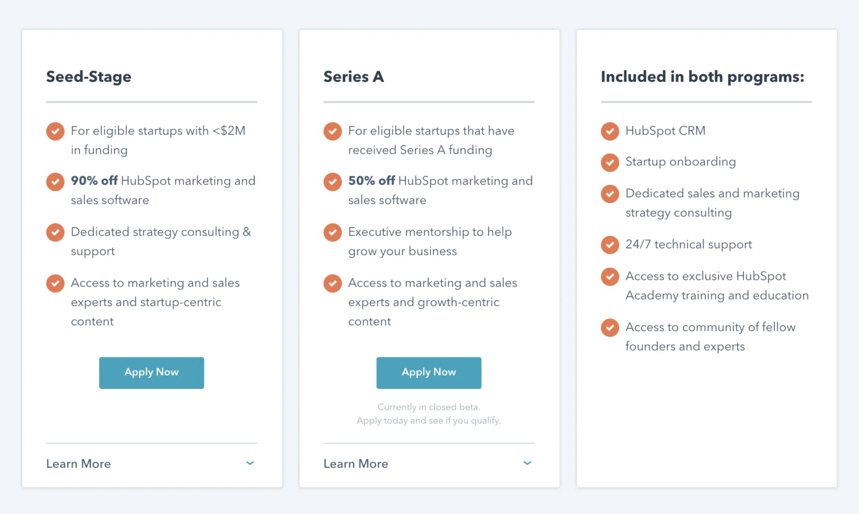 HubSpot for Startups 1