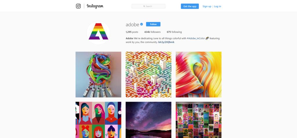 Do social media marketing on Instagram to build your brand