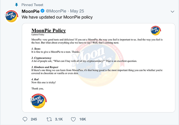 Moonpie Twitter profile