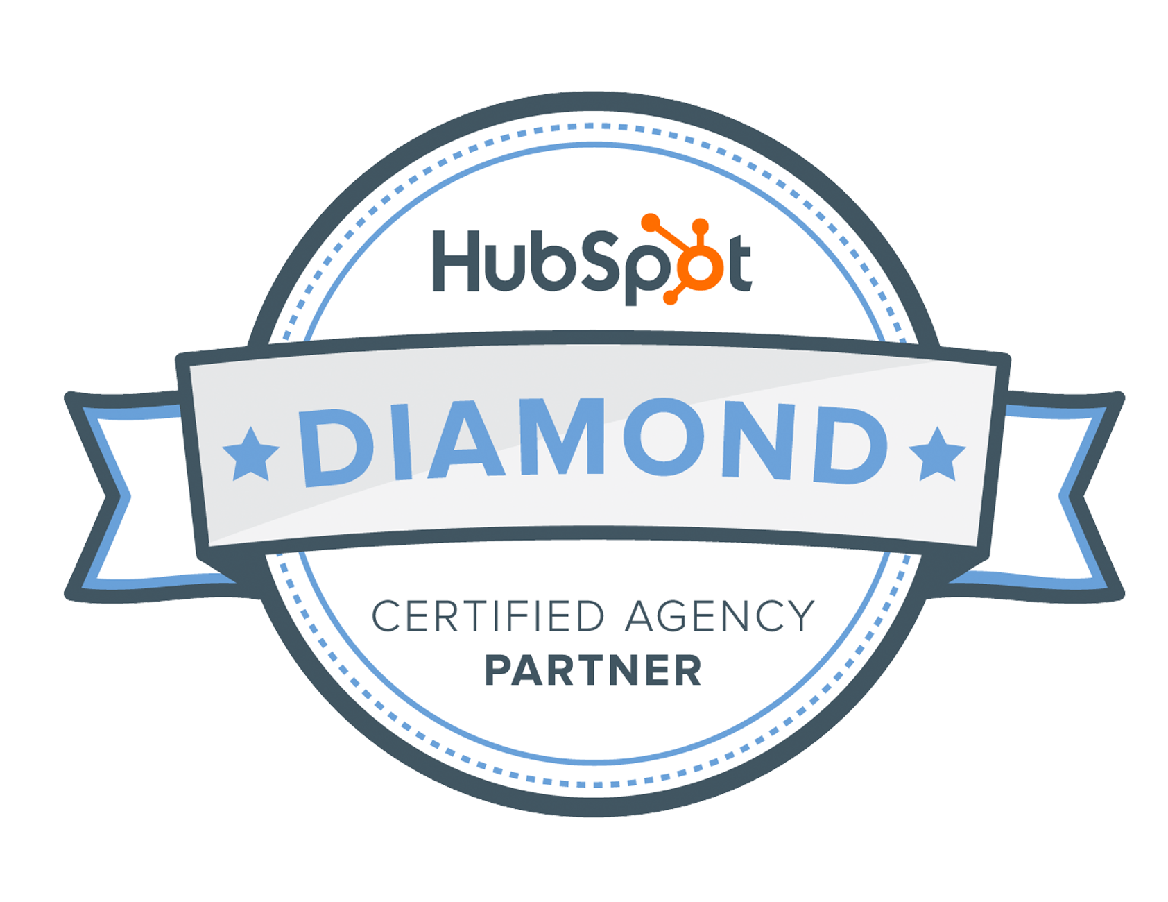 Market Veep HubSpot Platinum Partner Badge